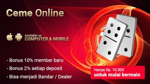Bandar Ceme Online Terfavorit | Agen Domino Online | Situs Poker Online