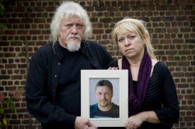 06-01-2010 - Anvers -  Mortsel  - Jonathan, 26 ans, tué par les « Rambo » de la police d'Anvers