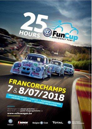 Animations et actions spéciales du Belgian VW Classics Club aux 25 Hours VW Fun Cup