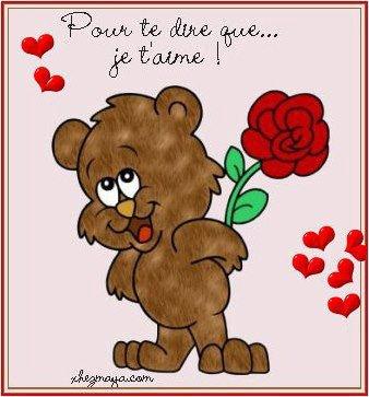 Je t'aime !!!