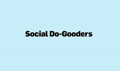 just free learn : Social Do-Gooders #Infographic