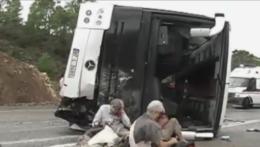 TURQUIE. Accident d'un car de touristes Français: 1 mort, 15 blessés