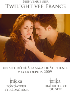 Twilight vef France, le site