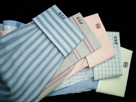 Shirt Monogram | Monogrammed Shirts | Monogramming Shirts | Monogrammed Dress Shirts