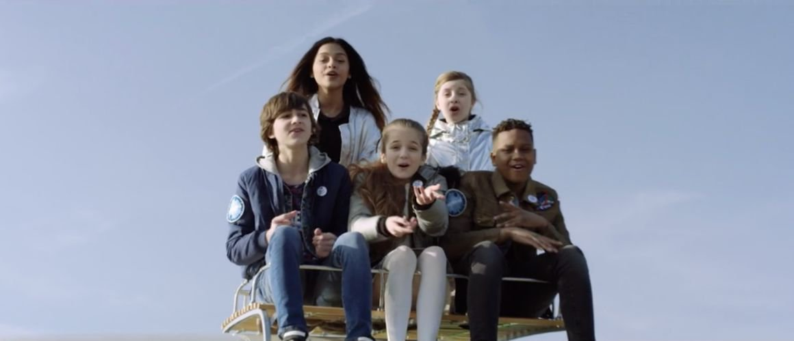 Les Kids United s'envolent dans le clip de Chante de Michel Fugain (VIDEO)
