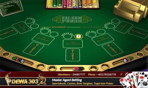 Situs Agen Judi Bandar Taruhan Poker Pai Gow Terpercaya