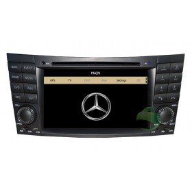 Auto DVD Player GPS Navigationssystem für Mercedes-Benz CLK-W209(2005 2006)