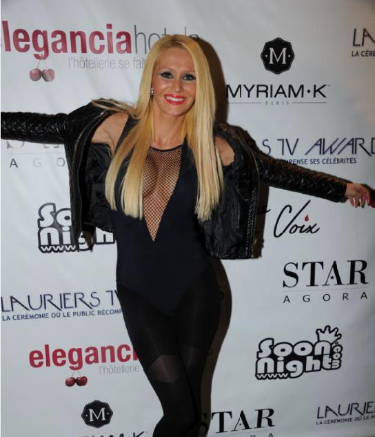 Tatiana-Laurens Delarue, nouvelle ambassadrice des Lauriers TV Awards 2015