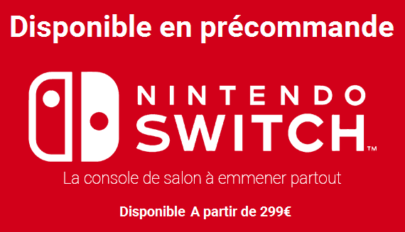 Top des ventes: Nintendo Switch se vends mieux que la PS4