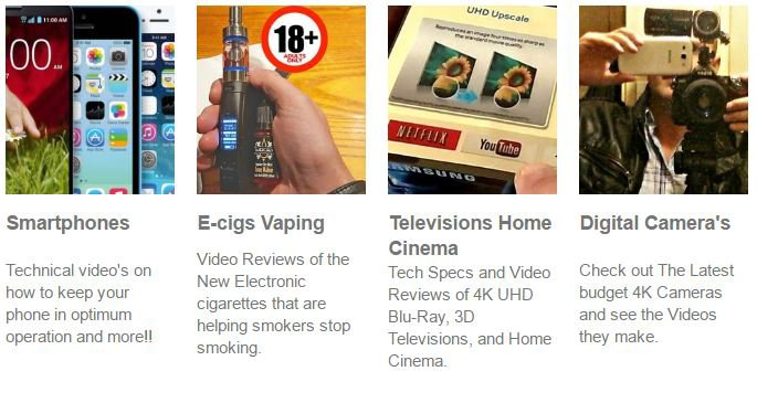 Smart Gadgets Specs Reviews | Smartphones | Home Entertainment | Vaping Technology How-To Help Guides News 2017