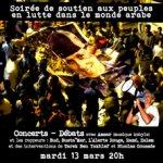 Soutien aux peuples en lutte dans le monde arabe - CRIJ Bretagne - 4BIS