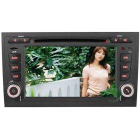 Auto DVD Player GPS Navigationssystem für Audi A4(2002 2003 2004 2005 2006 2007 2008.09)