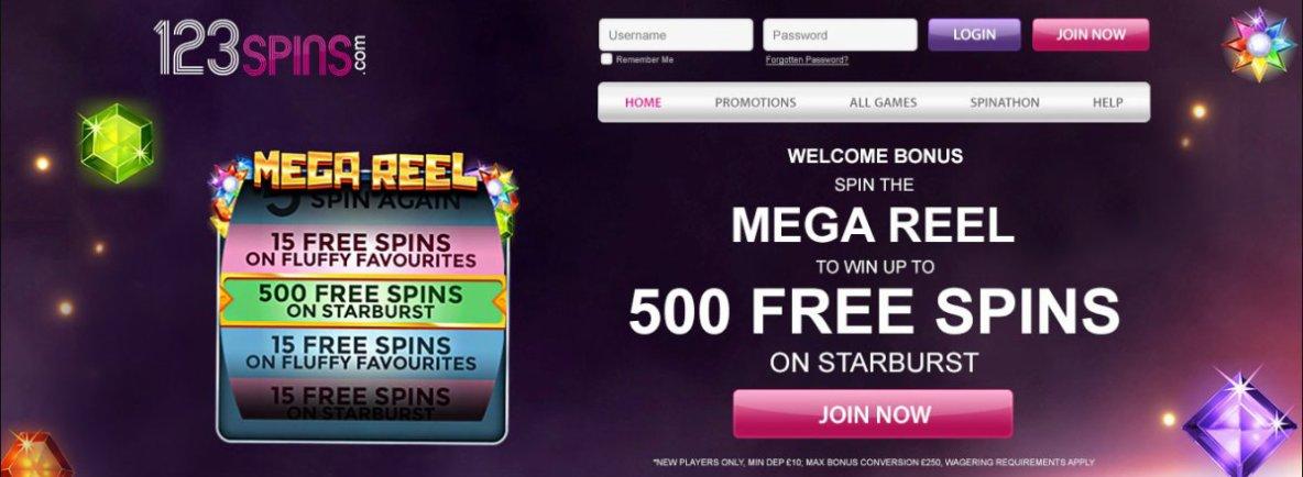123 Spins Online | Play Best Online Slots & Casino Games Online