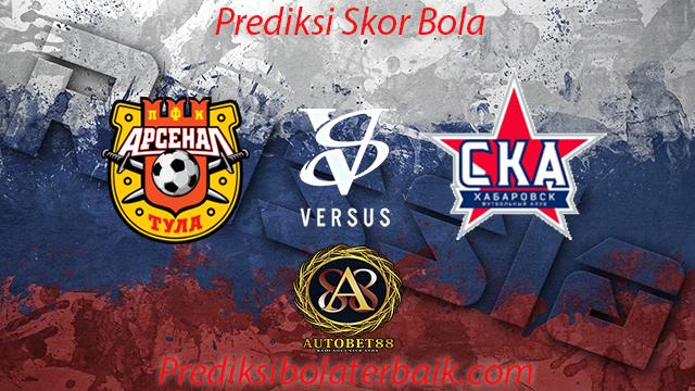 Prediksi Arsenal Tula vs Khabarovsk 24 Juli 2017 - Prediksi Bola