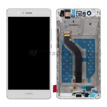 Huawei P9 lite LCD and Digitizer Assembly with Front Housing White - ETrade Supply