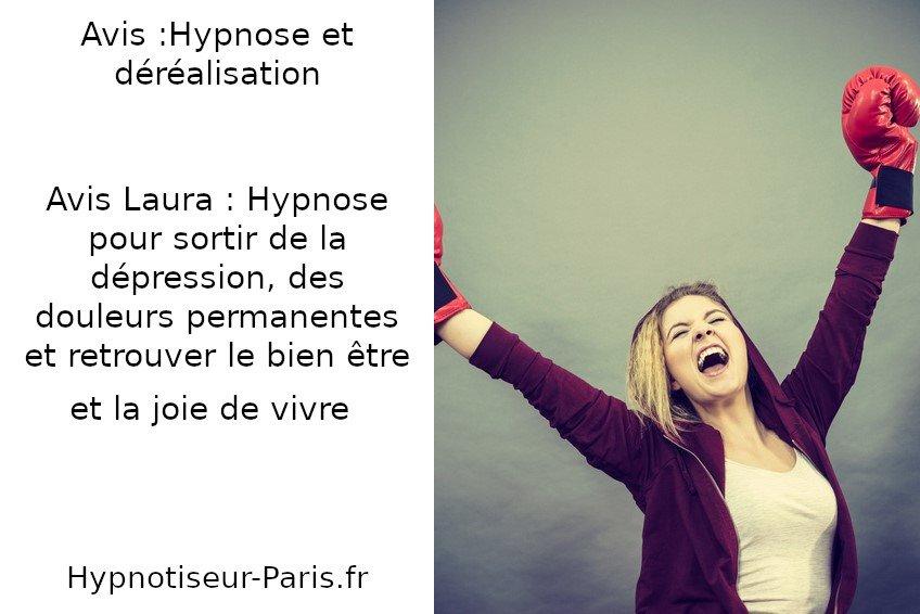 AVIS : L'hypnose, une solution pour sortir de la déréalisation - Hypnotiseur à Paris