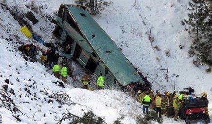 Accident d'autocar en Oregon: l'enquête se poursuit | Justice et faits divers