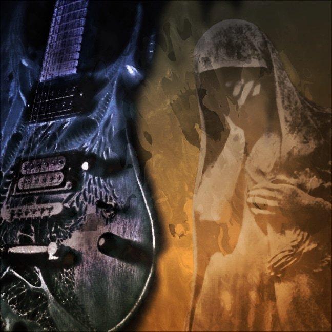 Death Chords on the Dark Guitar