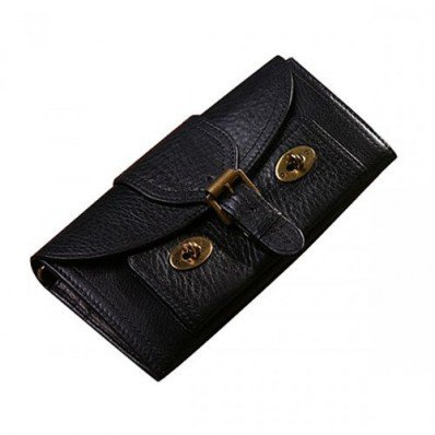 Stylish Mulberry Women 16 Card Lizzie Purses Black For Womens Sale