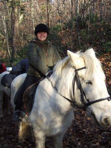 mon blog sur mon futur stage d'equitation avec mes debuts d'equiation quand j'étais petite