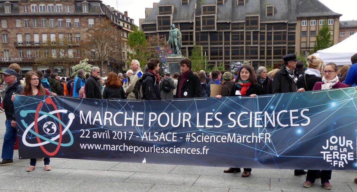 A Strasbourg, les sciences marchent | Histoires d'universités