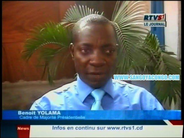 Apres Claude Mashala , Benoit YOLAMA un cadre de la Majorité Soutient le changement de la constitution du 18 Février  (vidéo)