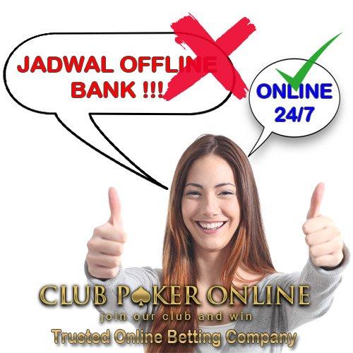 Situs Judi Online Deposit 24 Jam Pakai BCA BRI Mandiri