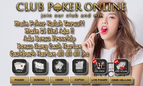 5 Keuntungan Luar Biasa Bermain Judi Di Club Poker Online