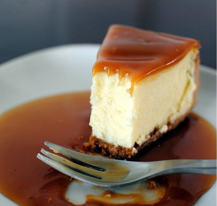 Recette Cheesecake au caramel