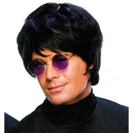 Perruque pop star noire homme - Baiskadreams.com
