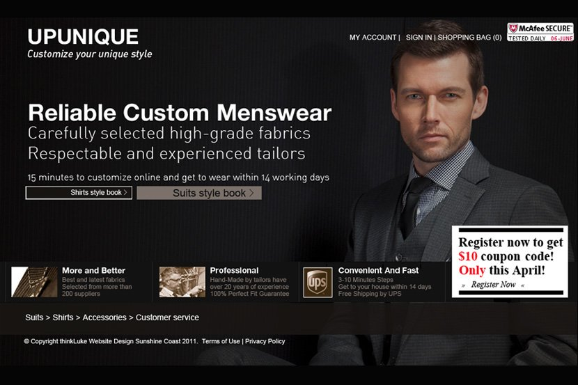 Custom suits,tailor made mens suits online-upunique