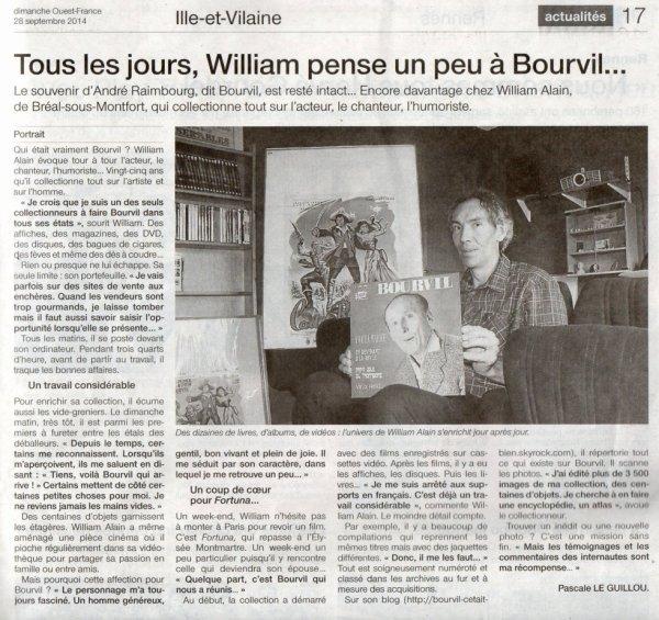44 ème anniversaire de la disparition de BOURVIL