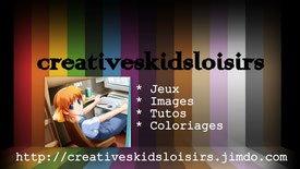 PAGE D' ACCUEIL - Site de creativeskidsloisirs !