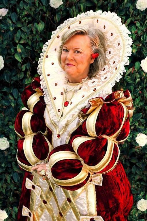 Anne-Marie Lizin comme vous ne l'avez jamais vue