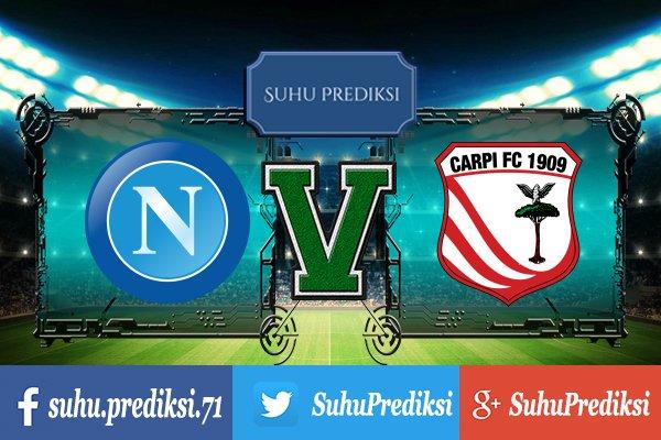 Prediksi Bola Napoli Vs Carpi 19 Juli 2017
