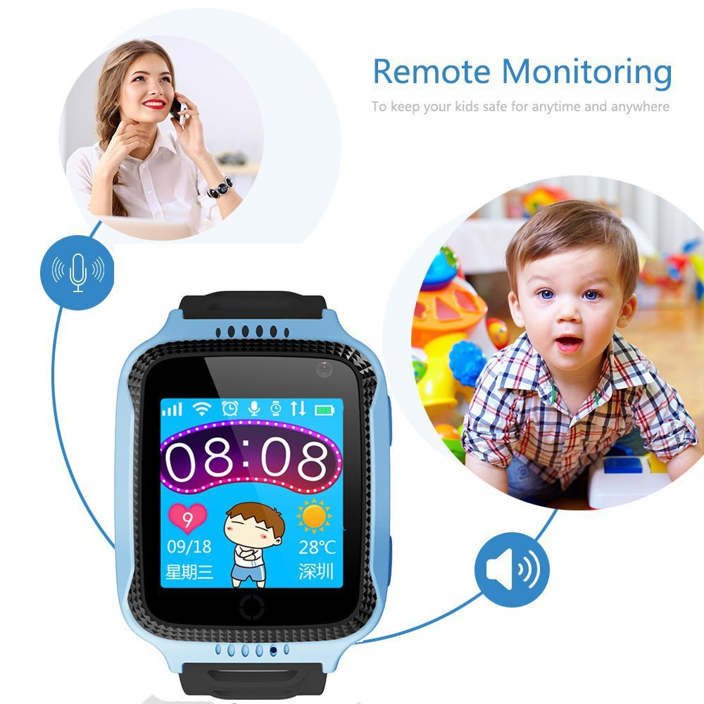 Top 5 Best GPS Tracker Phone Watch For Kids