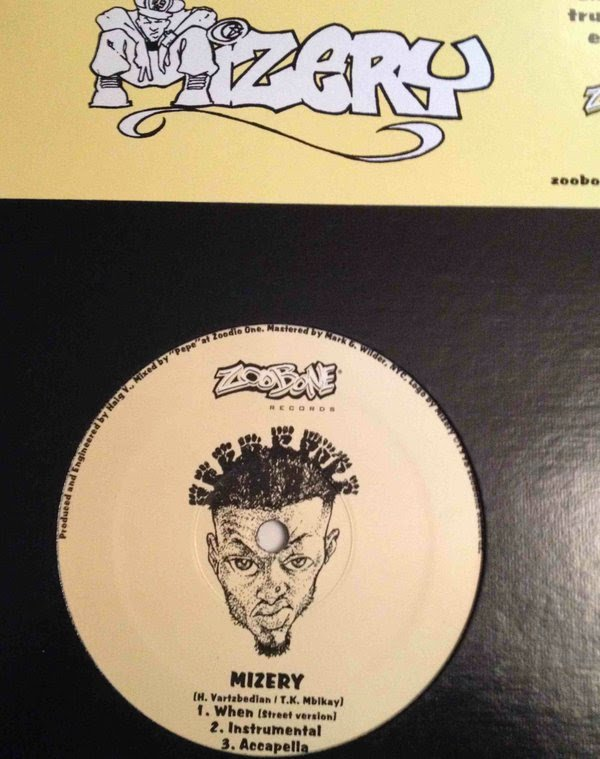 All Hip Hop Archive: Mizery - The Omnipotent MC (Vinyl, 12'')