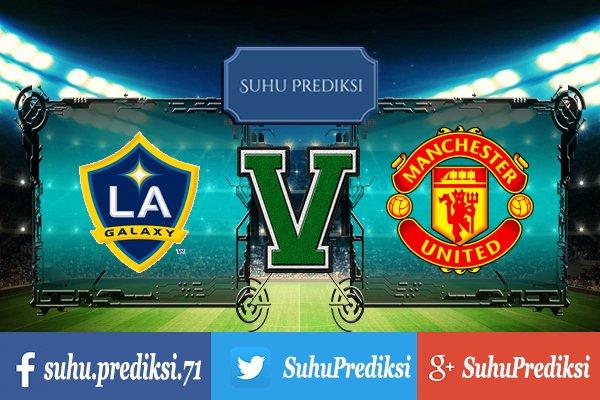 Prediksi Bola LA Galaxy Vs Manchester United 16 Juli 2017