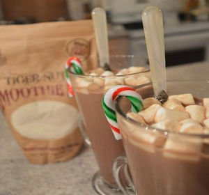 Holiday Tiger Nut Mocha Hot Chocolate Recipe Video