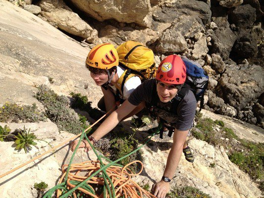 Sport climbing course in Malta