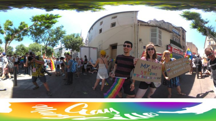 Photos 360 degrés Pride Marseille 2018 Archives - Gay Marseille