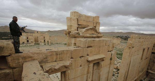 L'Etat islamique est entré dans Palmyre en Syrie