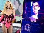 Photos : Britney Spears : elle fait un strip-tease à Joe Jonas !