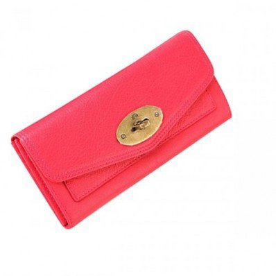 Recommend Mulberry Women Oversized Postman Lock Contental Purses Red Cheap Sale Online