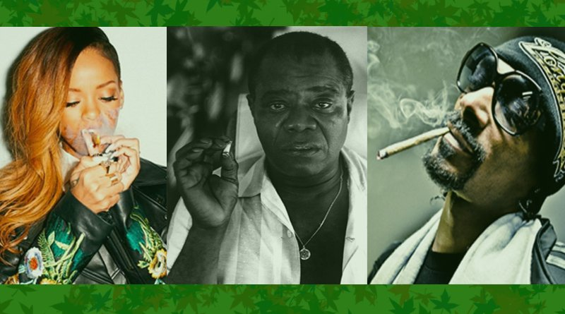Five Well-Known Music Artists that Smoked Weed