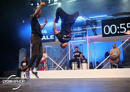 Photographies du Battle de breakdance des Nuits de Fourvière