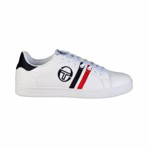 BASKETS HOMME SERGIO TACCHINI GHIBLI WHITE NAVY RED