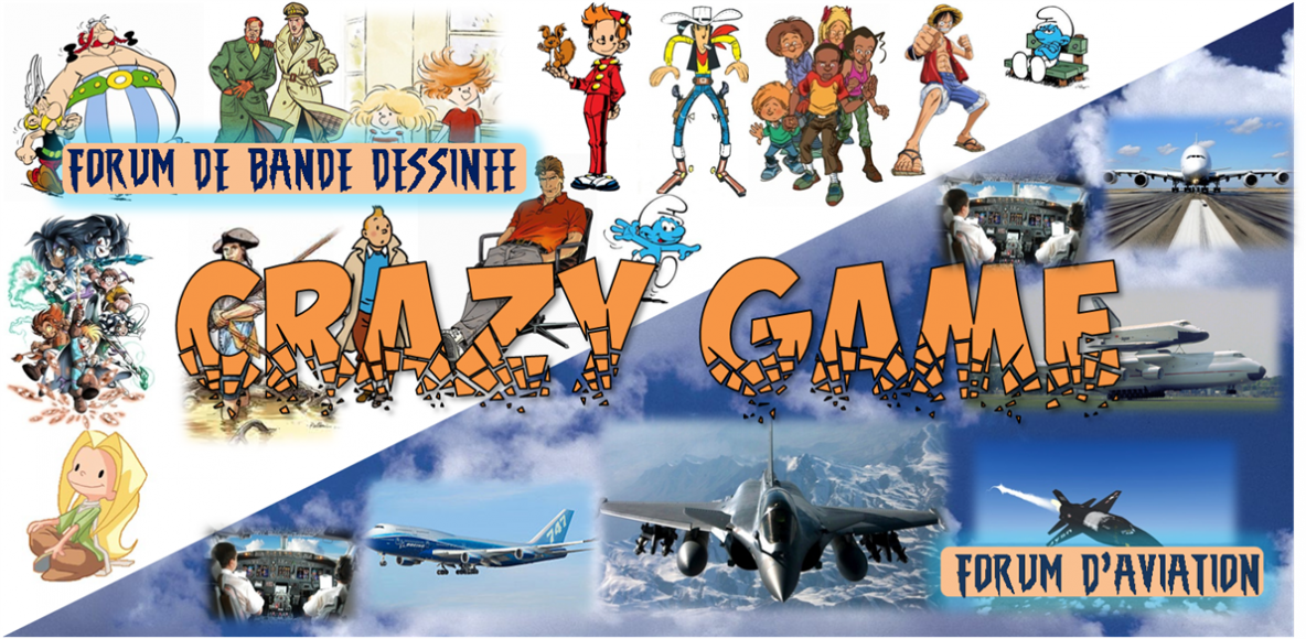 Crazy Game :: Bande dessinée et Aviation