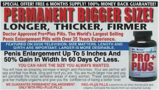 Pro Plus Pills Review – Male Enlargement Up 3-5″ Inches? Must See