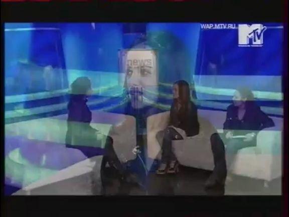 Alizee MTV Russia 24.05.2008